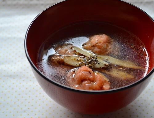 ◯鮭とごぼう